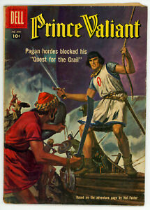 JERRY WEIST ESTATE: FOUR COMICS PRINCE VALIANT #699 & 849 (VG) (Dell 1956-57) NR