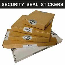 PIP Box / Pizza Box / Packet / A4 Box - Shipping Security Seals