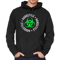 Hardstyle Biohazard Reaktor Toxic Club Hard Trance DJ Kapuzenpullover Hoodie