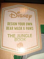 New Disney Design-Your-Own Craft and Pretend! Jungle book! NEW! Free Shipping