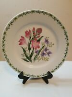 """THOMSON POTTERY CHINA FLORAL GARDEN RETIRED DINNER PLATE 10:50"""" CROCUS"""