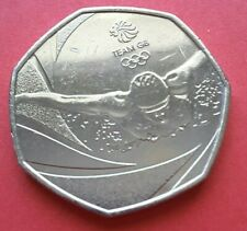 2016 50p - Rio Olympic Games - Team GB Swimmer Coin Hunt