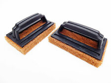 2 x Barbeque BBQ Grill Scrubbers Cleaning Brush Kitchen Restaurant Fireplace
