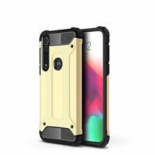 For Motorola Moto G8 Plus Phone Back Case Heavyduty Shock Armor Protective Cover