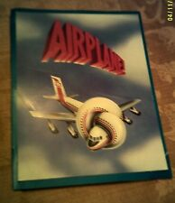 AIRPLANE! - Premiere Program - 1980 - Leslie Nielsen Lloyd Bridges, Zucker Bros