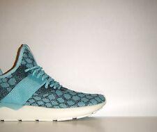 Adidas Originals Tubular x Runner PrimeKnit Blue Snake Sz 9 Boost NMD B25572
