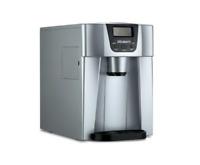 Devanti 2L Portable Ice Cuber Maker & Water Dispenser - Silver