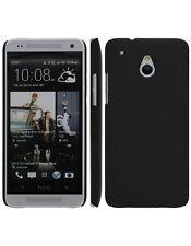 Coque rigide Noire pour HTC One Mini aspect mat toucher rubber gomme