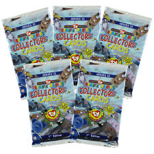 Ty Beanie Babies Collectors Cards (Bboc) - Series 2 - 5 Packs Lot - New