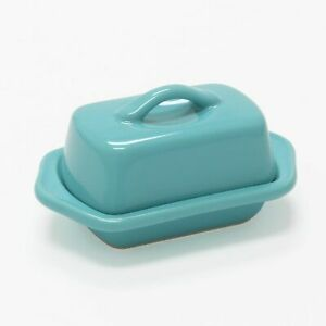 Chantal Mini Butter Dish - Aqua