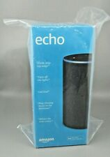 Echo 2nd Generation - Smart speaker with Alexa - Charcoal Fabric SEALED BOX