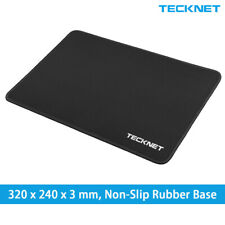 Black Large Gaming Mouse Mat Waterproof Pad Non-Slip Rubber Base for PC Laptop