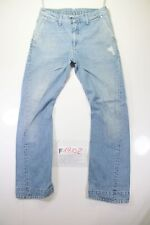 Levi's Engineered 865 (Cod. F1802) Tg46 W32 L34 jeans usato vita alta destroyed