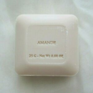 Pre de Provence Amande Artisan French Milled Shea Butter Guest Bar Soap Gift 25g