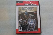 Call of Duty - Deluxe Edition (PC) Polish New Sealed Polska