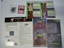 Ghostbusters Rpg Game Kick starter Add On Lot Board Card Cryptozoic Pvp Variant