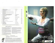 Les Mills Body Flow 34 Complete DVD, CD, Case and Notes