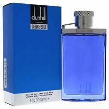 Dunhill Desire (Blue) Eau de Toilette Spray-3.4oz/100ml-Brand New in Box Sealed