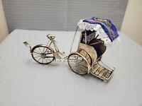 Vintage Vietnamese Xich lo Tricycle, Detachable 5.75'' T ~ 10'' L