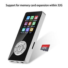 Bluetooth 4.2 Reproductor MP3 MP4 Música Medios Radio FM Video Digital Portátil
