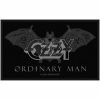 Ozzy Osbourne Bark At The Moon Sew On Patch Heavy Metal Band Badge New