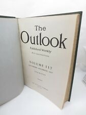 1917 The Outlook Magazine Vol 117 Antique Book Ads Stories Canastota NY Library