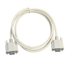 Null Modem Cable Female to Female DB9 RS232 Serial F-F Wire