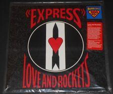 LOVE AND ROCKETS express USA LP new 200 gram vinyl LIMITED #0457/1500 bauhaus