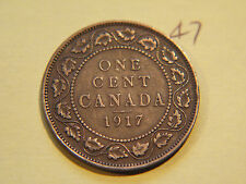 #11,1917 Canada, Canadian Large Cent Coin , Canadian One Ceny