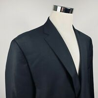 LRL Ralph Lauren Mens 50L Sport Coat Black 100% Two Button Fully Lined