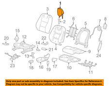 Chevrolet GM OEM 10-15 Camaro Driver Seat-Headrest Head Rest Left 23279120