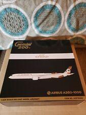 Etihad Airways Airbus A350-1000 A6-xwb Gemini Jets G2ETD883 Scale 1 200