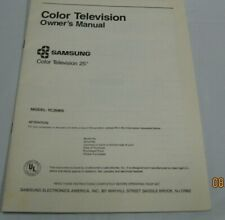 color television owners manual samsung 25 inch color tv owners manual