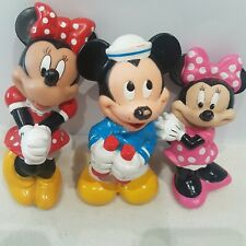 Disney Mickey and Minnie Mouse Plastic figure Toy