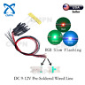 10Pcs 0805 2012 SMD LED Diodes RGB Slow Flashing Lights Pre-Wired DC 9-12V Line