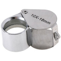 Triplet jeweler eye loupe magnifier 10X 18mm magnifying glass jewelry diamoLU