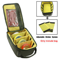 Fishing Reel Storage Bag Fly Lure Line Tackle Gear Organizer Zipper Portable New