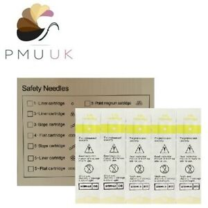 SPMU Needles - Semi Permanent Make Up PMU - Eyebrow Lip Micropigmentation Tattoo