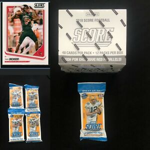 2018 Score FAT Value Pack-40 cards *Sam Darnold RC Inside SHOWING ON BACK-LOOK!