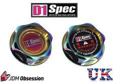 D1 SPEC OIL CAP NEO CHROME 350Z SKYLINE R33 R34 180SX 200SX S13 S14 PULSAR GTR