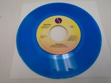 Madonna True Blue / Ain't No Big Deal 45 rpm Sire EX [transparent blue vinyl]