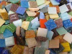400 Mosaic Tiles 'The Full Mix. Arts & Crafts. Schools, Tessera  Mixed Mosaics