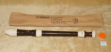 Vintage YAMAHA Soprano RECORDER YRS-302B III With OFFICIAL case & Joint CREAM