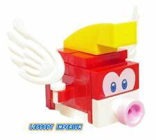 LEGO Super Mario - Cheep Cheep - buildable minfigure & tile FREE POST