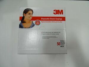 3M 90581H200-C 29 dB Foam Ear Plugs Orange 50 pk.