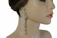 Rhinestone Love & Hearts Drop/Dangle Fashion Earrings