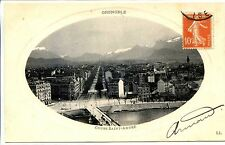 CP 38 ISERE - Grenoble - Cours Saint-André