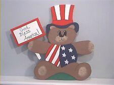 Patriotic Bear *4th of July* Yard Art