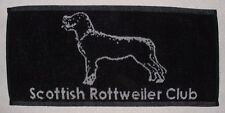 10 pack of Scottish Rottweiler Club - Bar Towels - New and LIMITED STOCK