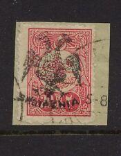 Albania  60 used on piece signed catalog $190.00  RL1001